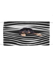 Tibetan Mastiff Stripes FM Cloth face mask front