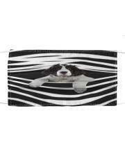Landseer Stripes FM Cloth face mask front