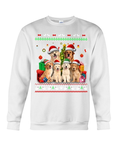 Golden Retriever Christmas Gift