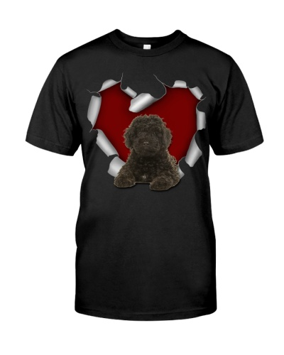 Labradoodle 2 Torn Heart