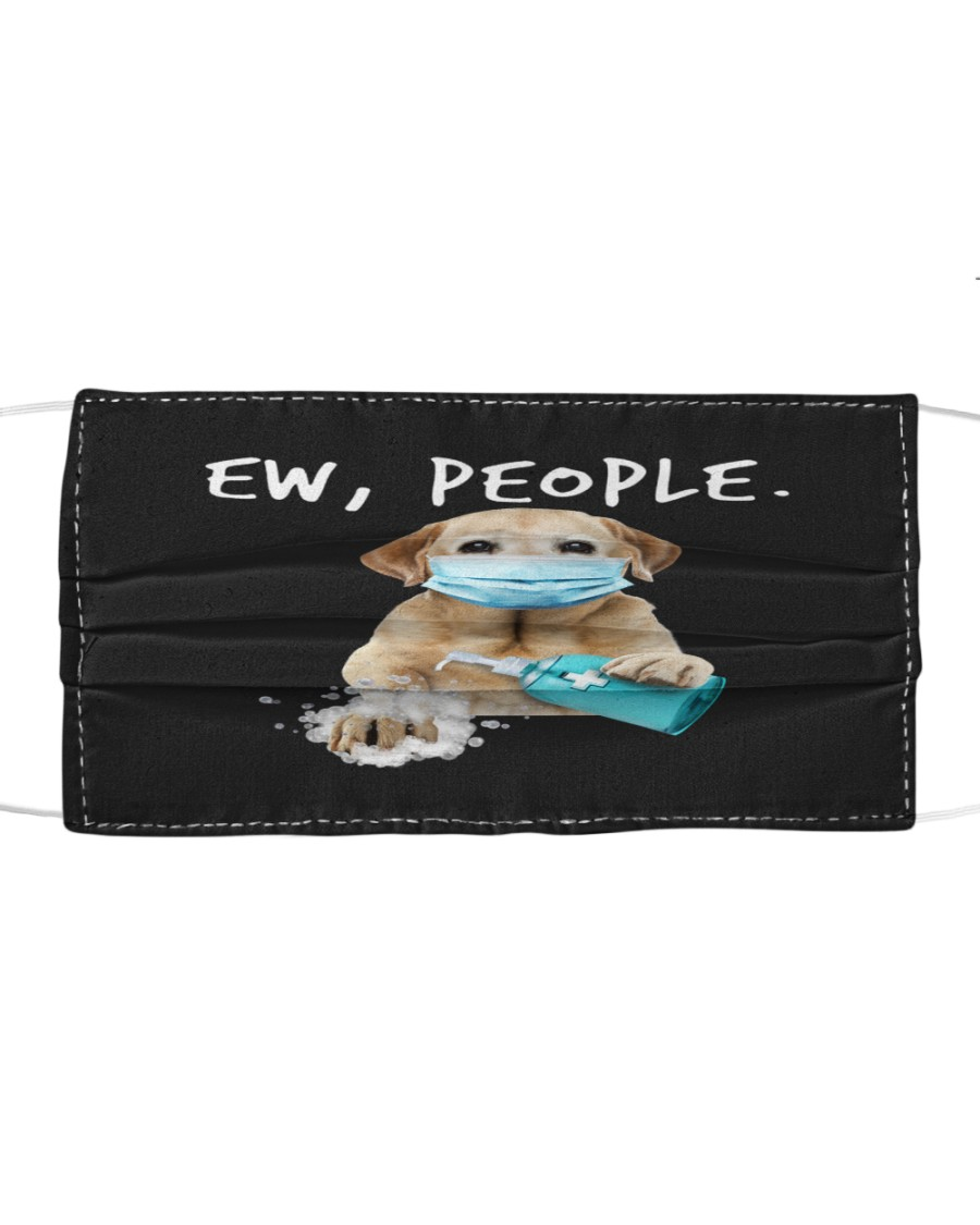 Labrador Retriever Handwashing Ew People Cloth face mask