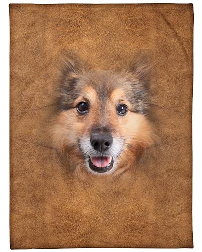 Shetland Sheepdog Face 3D
