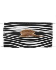 Nova Scotia Duck Tolling Retriever Stripes FM Cloth face mask front