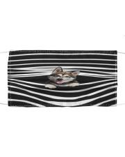 Alaskan Malamute Stripes FM Cloth face mask front
