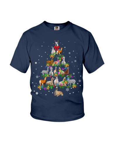 Llama - Christmas Tree