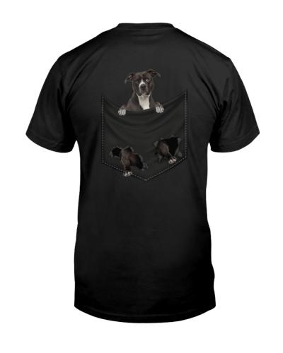 American Pit Bull Terrier Back Pocket