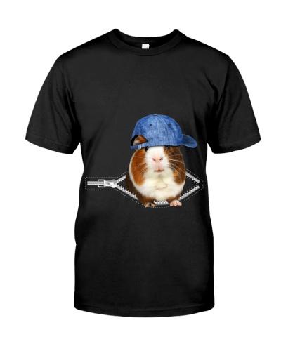 Guinea Pig-Hat-Zipper
