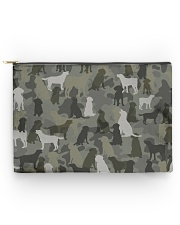 Labrador Retriever-camouflage Accessory Pouch - Large thumbnail