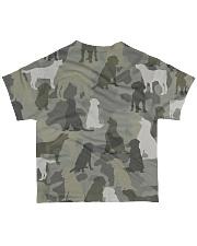 Labrador Retriever-camouflage All-over T-Shirt back
