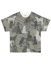Labrador Retriever-camouflage All-over T-Shirt front