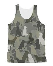 Labrador Retriever-camouflage All-over Unisex Tank thumbnail