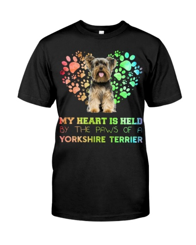 Yorkshire Terrier Heart Paw