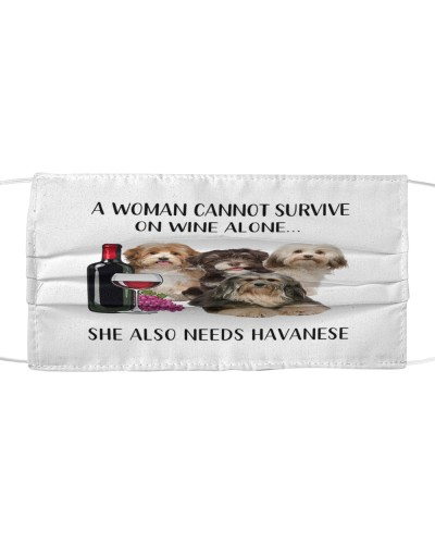 She Also Needs Havanese Face