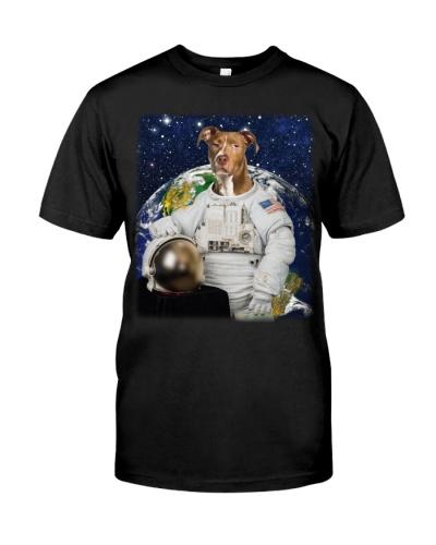 Astronaut-American Pit Bull Terrier