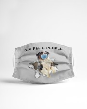 Australian Shepherd Six Feet People FM Cloth face mask aos-face-mask-lifestyle-22