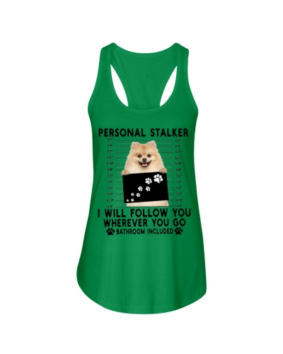 Pomeranian Funny Personal Stalker