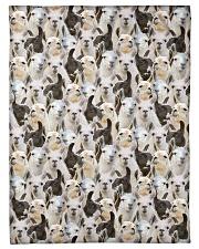 "Llama Full Face Small Fleece Blanket - 30"" x 40"" front"