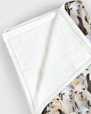 "Llama Full Face Large Fleece Blanket - 60"" x 80"" aos-coral-fleece-blanket-60x80-lifestyle-front-12"