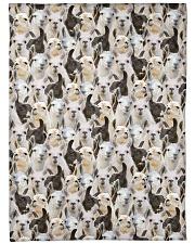 "Llama Full Face Large Fleece Blanket - 60"" x 80"" thumbnail"