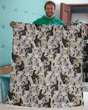 "Llama Full Face Sherpa Fleece Blanket - 50"" x 60"" aos-sherpa-fleece-blanket-50x60-lifestyle-front-05"