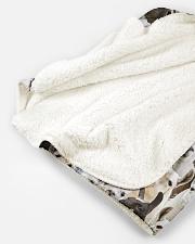 "Llama Full Face Sherpa Fleece Blanket - 50"" x 60"" aos-sherpa-fleece-blanket-50x60-lifestyle-front-11B"