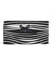Scottish Terrier Stripes FM Cloth face mask front