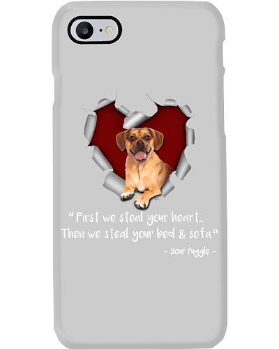 Puggle-Torn Paper Heart