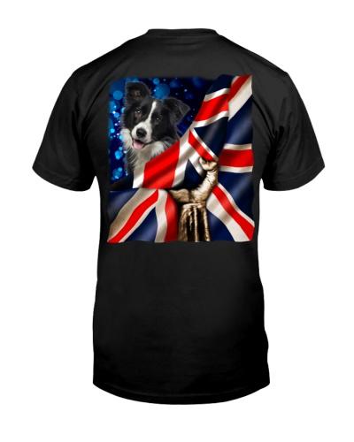 Border Collie-The Union Jack