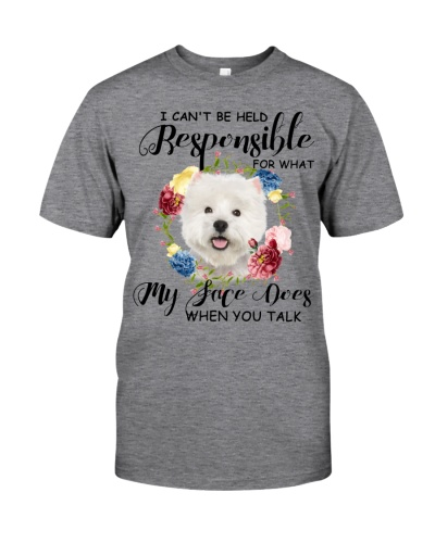 My Face Dog West Highland White Terrier