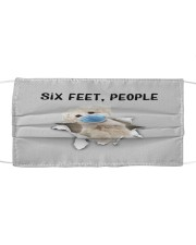 Maltese Six Feet People FM Cloth face mask front
