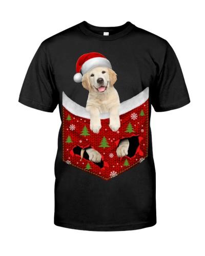 Labrador-Christmas Pocket