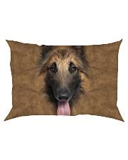 Tervuren Dog-Face and Hair Rectangular Pillowcase thumbnail