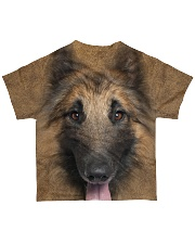 Tervuren Dog-Face and Hair All-over T-Shirt back