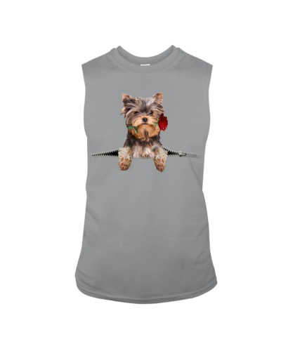 Yorkshire Terrier Rose Face