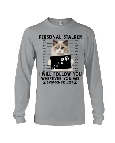 Personal Stalker Ragdoll Cat
