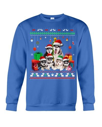 Siberian Huskys-Christmas Gift