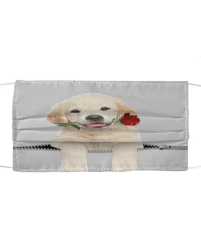 Labrador Retriever Rose Face