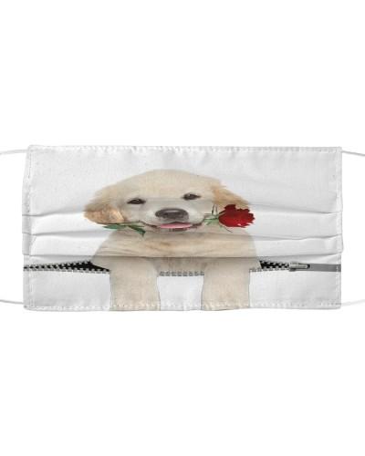 Labrador Retriever Rose Face