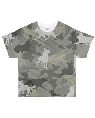 German Shepherd-camouflage