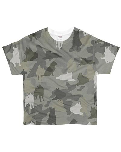 Norwegian Elkhound-camouflage