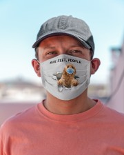 Goldendoodle Six Feet People FM Cloth face mask aos-face-mask-lifestyle-06