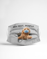 Goldendoodle Six Feet People FM Cloth face mask aos-face-mask-lifestyle-22