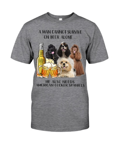 He Also Needs American Cocker Spaniel And Beer