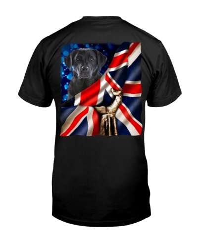 Labrador Retriever-The Union Jack