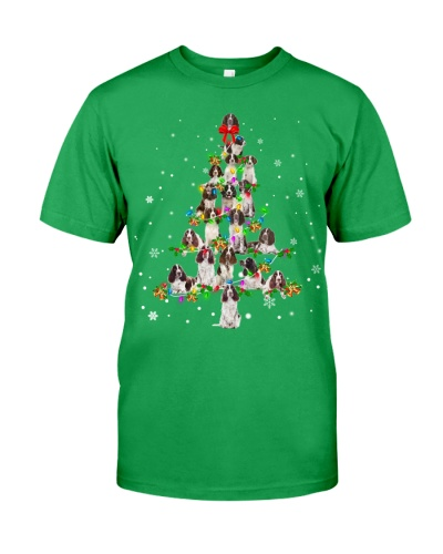 English Springer Spaniel - Christmas Tree