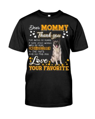 Dear Mommy-Norwegian Elkhound