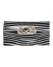 Maine Coon Cat Stripes FM Cloth face mask front