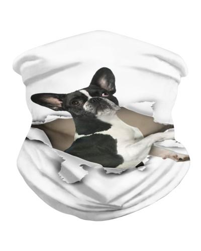 French Bulldog Torn Paper BDN