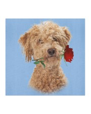 Poodle Crossbreed Rose FM Cloth face mask aos-face-mask-coverlet-lifestyle-front-02