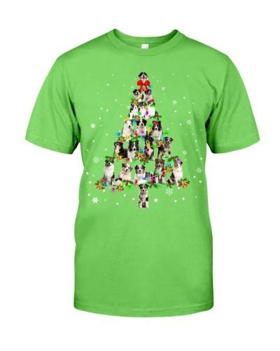 Australian Shepherd - Christmas Tree